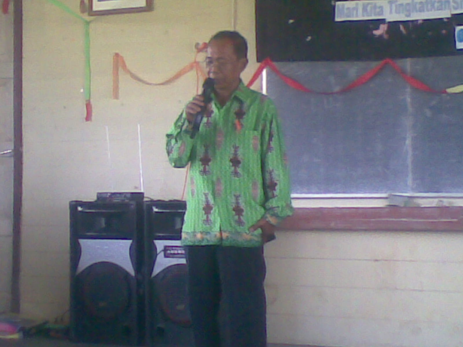 Sambutan Ketua Majelis AHK Kalahien Pak JAHANI SMP NEGERI 3